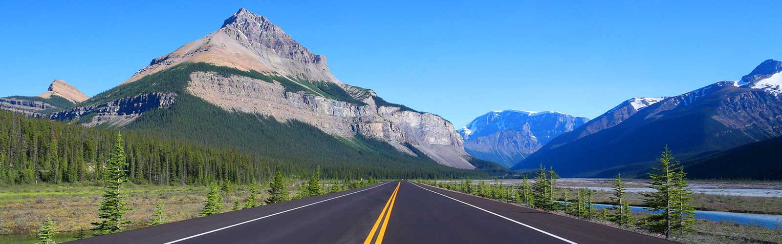 Driving Maps for Alberta and British Columbia
