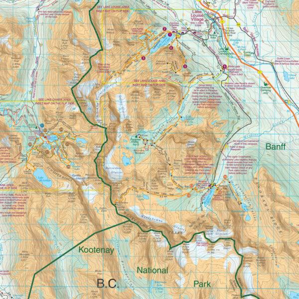 Gem Trek Lake Louise Yoho Map