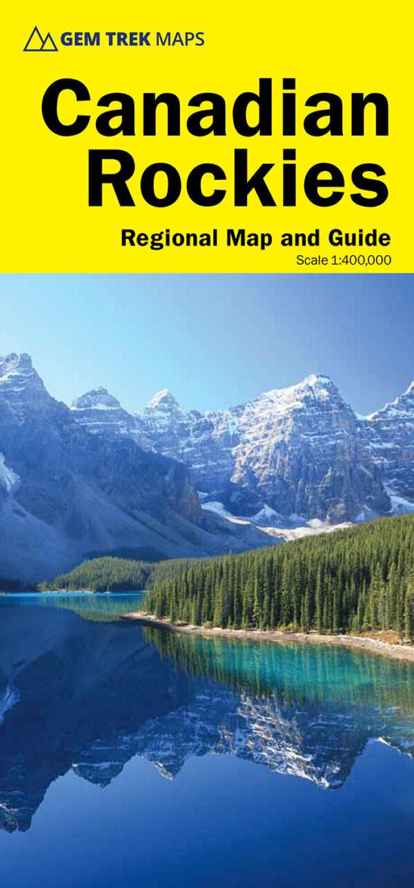 Gem Trek Canadian Rockies Map