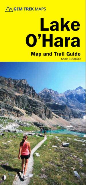 Gem Trek Lake O'Hara Map