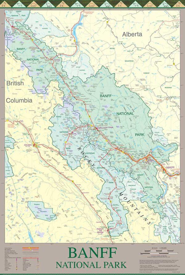 Banff National Park Front