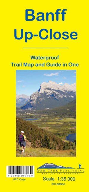 Gem Trek Banff Map