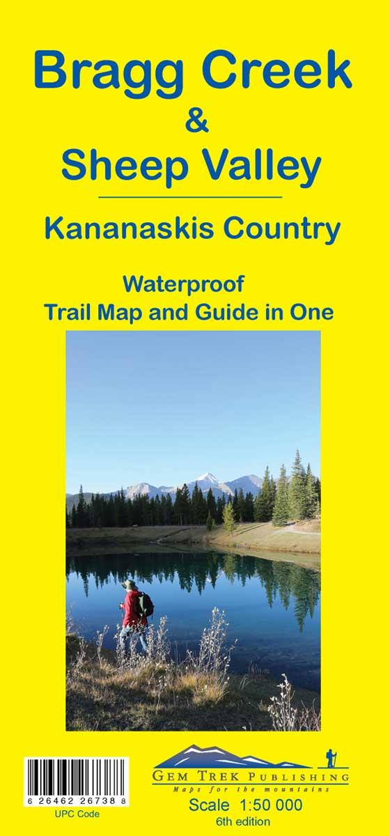 Gem Trek Bragg Creek & Sheep Valley Map