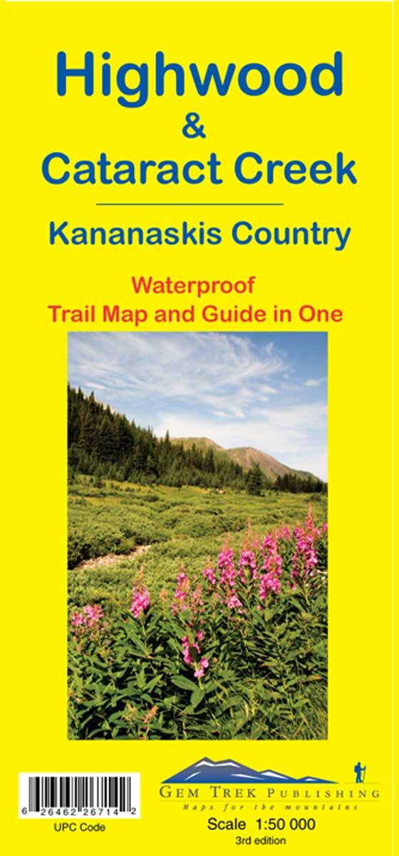 Gem Trek Highwood & Cataract Creek Map