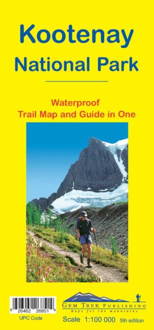 Gem Trek Kootenay National Park Map