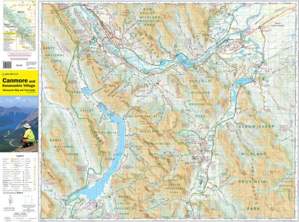 Gem Trek Canmore Kananaskis Village Map