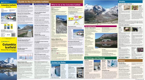 Gem Trek Columbia Icefield Map