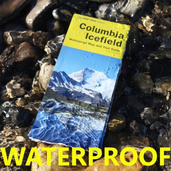 waterproof columbia icefield gem trek map