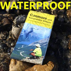 Gem Trek waterproof map